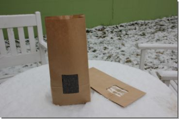 Flat Bottom Bag natural with window XXL, carton with 500 units