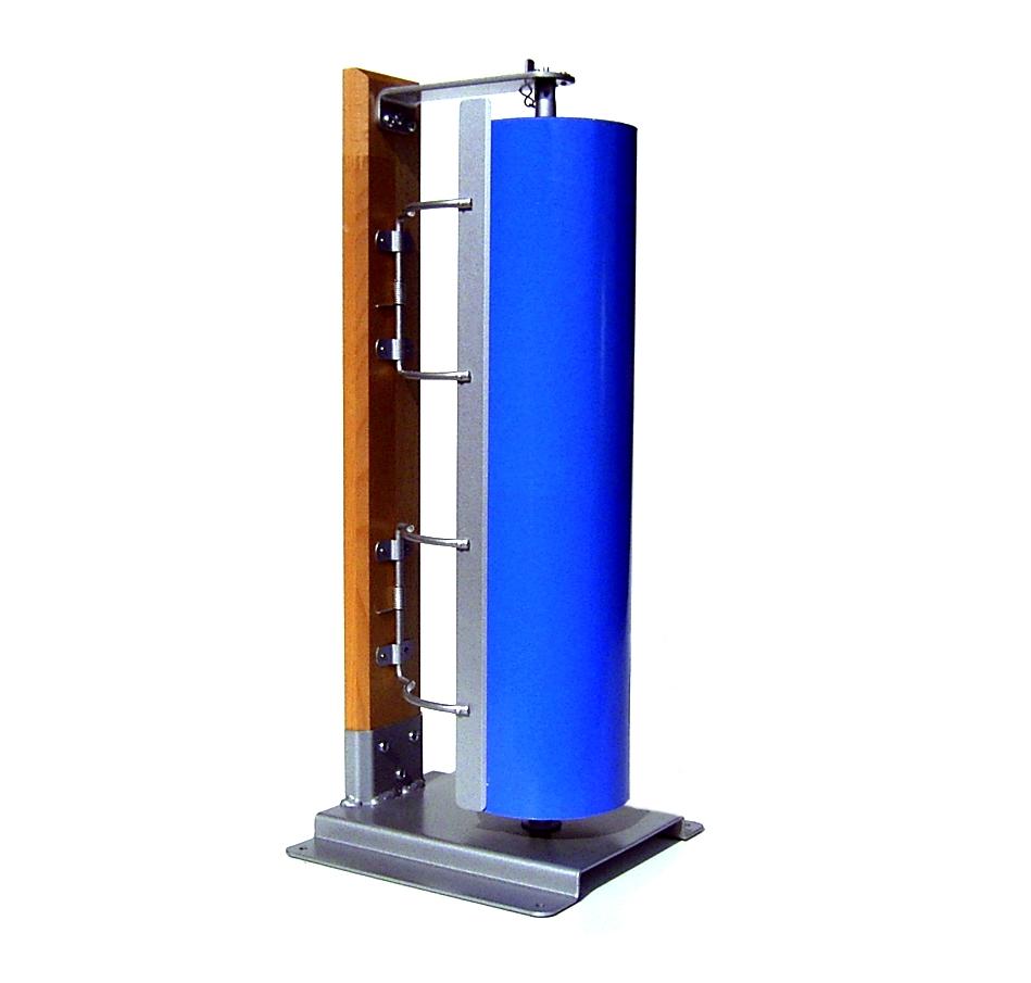 Papier spezialist table top unwinder vertical beech for Html vertical table